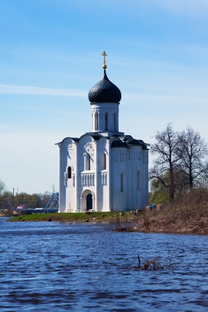Church of the Intercession on River Nerl was constructed between 1158�1165. Russia  photo