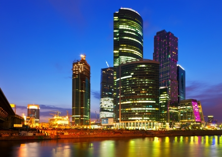 Moscow-city business center, Russia photo