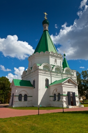kreml: Cathedral of the Archangel Michael in the Nizhni Novgorod Kremlin. Russia