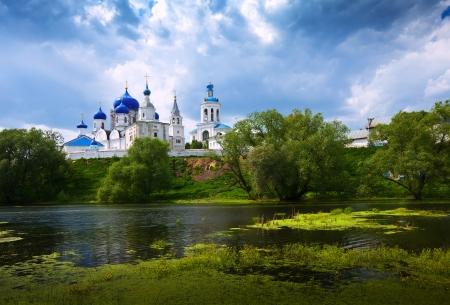 orthodoxy: Orthodoxy monastery at Bogolyubovo in summer day. Russia