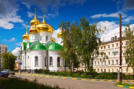 nizhni novgorod: Temple of St. Sergiy Radonezhsky in Nizhny Novgorod. Russia