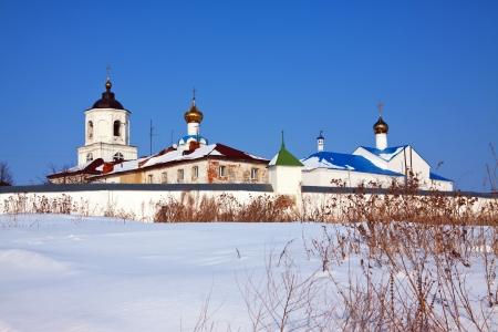 vasiliev: Vasiliev monastery at Suzdal in winter. Russia