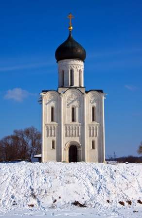 Church of the Intercession on the River Nerl. Inscribed in the Wold Heritage  photo
