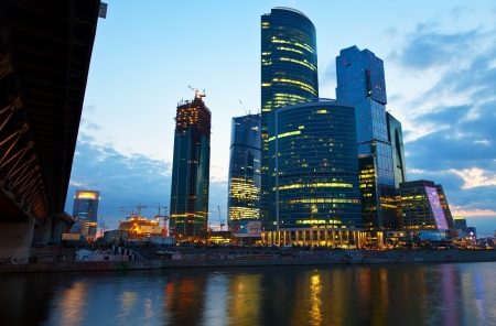 conceived: MOSCOW, RUSSIA - JULE 4: Moscow International Business Center (Moscow IBC) in Jule 4, 2012 in Moscow, Russia. First conceived the project in 1992. Total cost of project is estimated at $12 billion Editorial