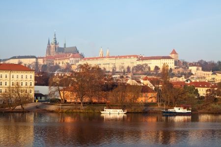 Morning view of Prague. Czech Republic  Stock Photo - 15087498