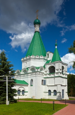 kreml: Cathedral of the Archangel Michael in Kremlin.  Nizhny Novgorod, Russia