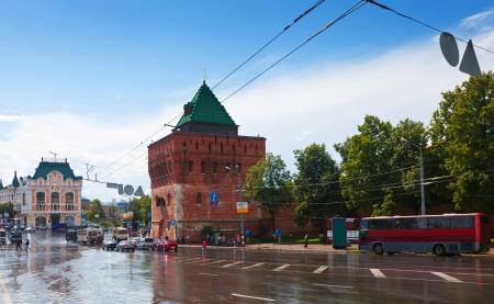 nizhny novgorod: Kremlin at Nizhny Novgorod in summer. Russia