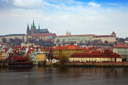 Day view of Prague. Czech Republic photo