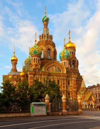 Views of Saint Petersburg. Church of the Savior on Blood in summer  photo