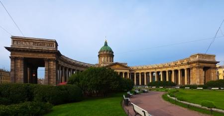 Views of Saint Petersburg. Kazan Cathedral in summer  photo