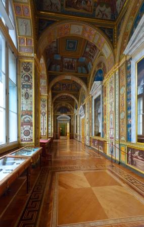 Interior of Winter Palace (State Hermitage). Saint Petersburg