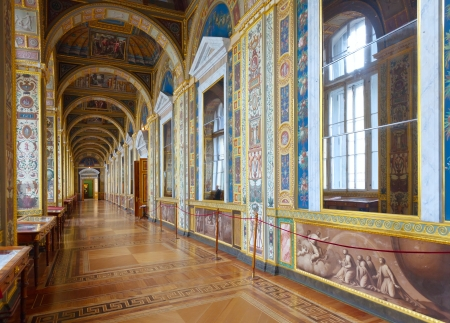 Interior of Winter Palace. Saint Petersburg   Stock Photo - 15371129
