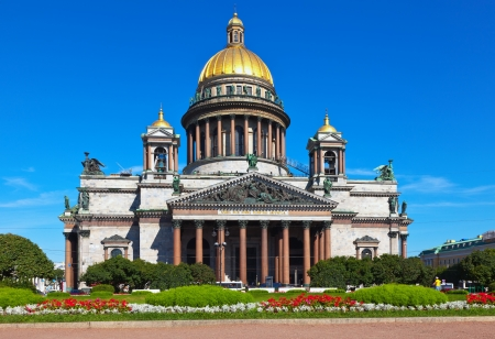 Saint Isaac's Cathedral in St. Petersburg. Russia Stock Photo - 15423767
