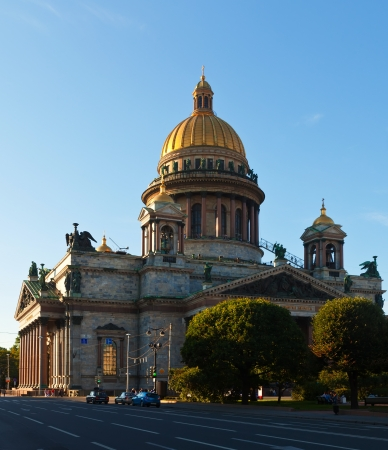 Saint Isaac's Cathedral in St. Petersburg. Russia photo