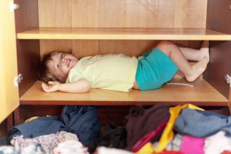 hellion:  Baby girl is in the closet at home