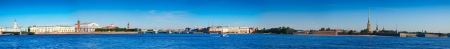 Panoramic view from Neva river. Saint Petersburg, Russia Stock Photo - 16274366