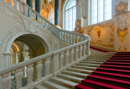 Interior of Winter Palace (State Hermitage). Saint Petersburg