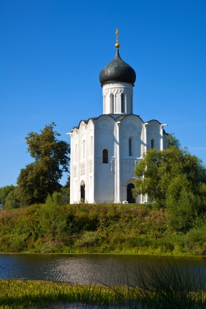 intercession: Church of the Intercession on the River Nerl.