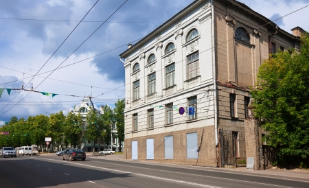 mention: IVANOVO, RUSSIA - JUNE 27:  View of Ivanovo - Lenin Avenue on June 27, 2012 in Ivanovo, Russia.  First mention of the city dates back to 1561 year. Population: 409,277 (2010 Census)