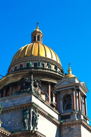 Dome of Saint Isaac cathedral photo