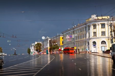 Minin and Pozharsky Square in Nizhny Novgorod. Russia photo