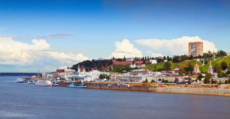Nizhny Novgorod with Oka river. Russia photo