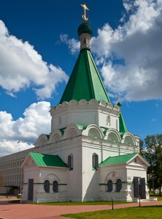 Cathedral of the Archangel Michael in the Nizhni Novgorod Kremlin. Russia photo