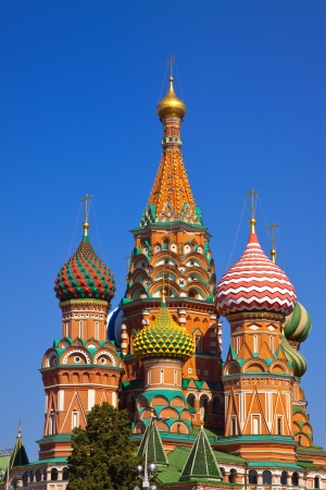 intercession: Intercession Cathedral at Red Square. Moscow, Russia Stock Photo