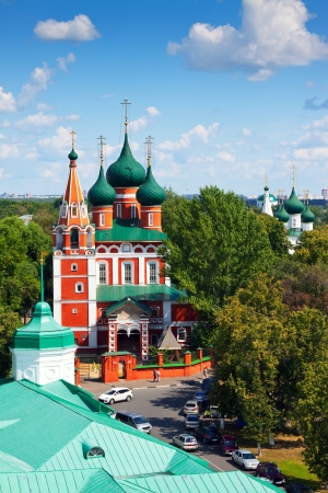 Garrison church of the Archangel Michael in Yaroslavl. Russia
