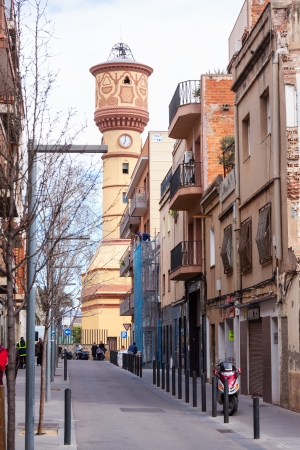 3rd century: BADALONA, SPAIN - MARCH 11: View of Badalona in March 11, 2013 in Badalona, Spain. City was founded by the Romans in the 3rd century BC.  Population: 220,977 (2012 Census)