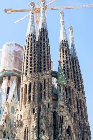 heilige familie: Basilika und Statuen, Kirche der Heiligen Familie (Sagrada Familia)