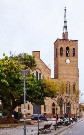 josep: Parroquia de Sant Josep in Badalona. Catalonia