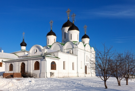 spassky: Spassky Cathedral of Holy Transfiguration Monastery at Murom in wintry day. Russia