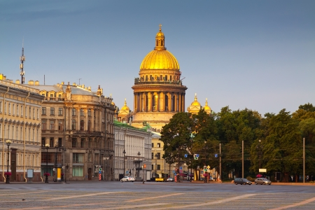 Saint Isaacs Cathedral in Saint Petersburg in summer. Russia photo