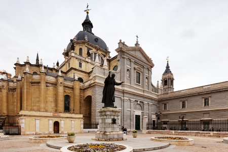 Santa Maria la Real de La Almudena is Catholic cathedral in Madrid. Spain Stock Photo - 19851399
