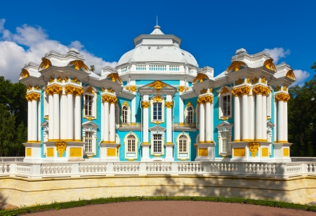 selo: Hermitage Pavilion in Catherine Park at Tsarskoye Selo (Pushkin), St. Petersburg, Russia