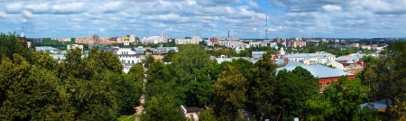 residential settlement: Summer view of old district of Vladimir. Russia