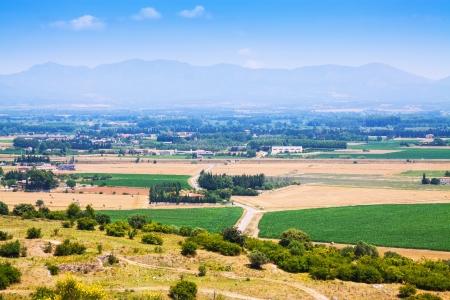 alt: Rural view of Alt Emporda comarca. Catalonia, Spain