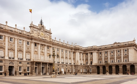 Royal Palace of Madrid - is official residence of Spanish Royal Family