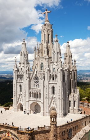 Temple Expiatori del Sagrat Cor. Barcelona  Stock Photo - 21293584