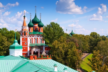Garrison church of the Archangel Michael in Yaroslavl. Russia photo