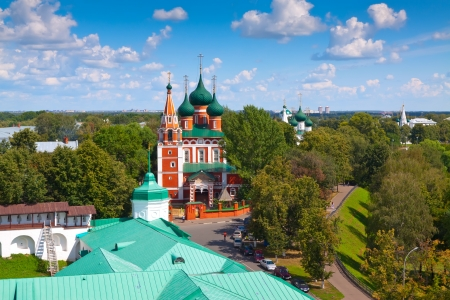 Garrison church of the Archangel Michael in Yaroslavl. Russia photo