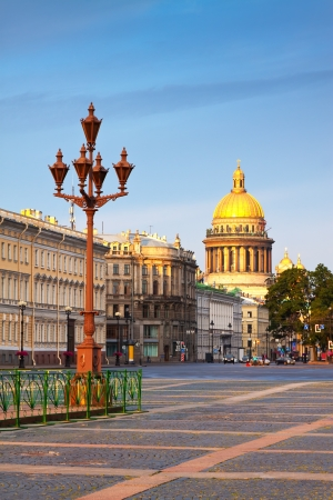 Views of St.Petersburg. Saint Isaacs Cathedral in summer  photo