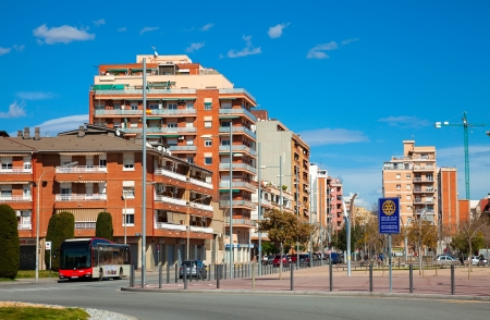 3rd century: BADALONA, SPAIN - MARCH 10: View of Badalona in March 10, 2013 in Badalona, Spain.  City was founded by the Romans in the 3rd century BC.  Population: 220,977 (2012 Census)