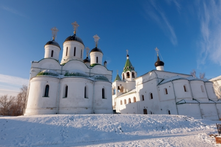 spassky: Spassky monastery at Murom in wintry day. Russia Stock Photo