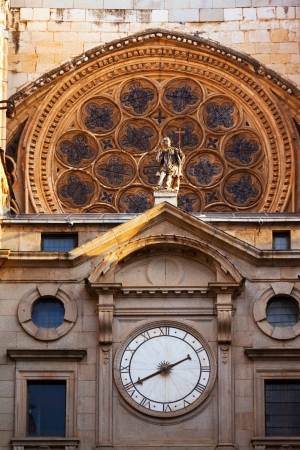 gotico: Detalle de Catedral Primada de Santa Mar�a. Toledo, Espa�a