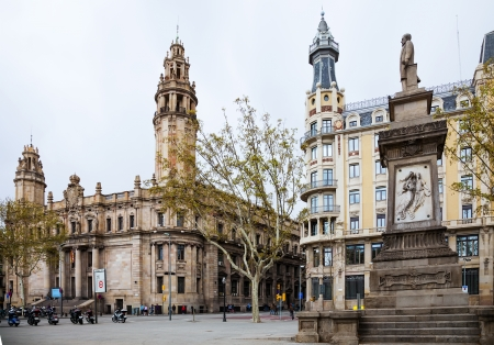 View of Barcelona, Main post office building Stock Photo - 22331662