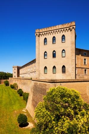 zaragoza: Aljaferia Palace in Zaragoza. Aragon, Spain Editorial