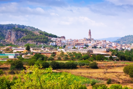 valencian: General view of Jerica. Valencian Community, Spain