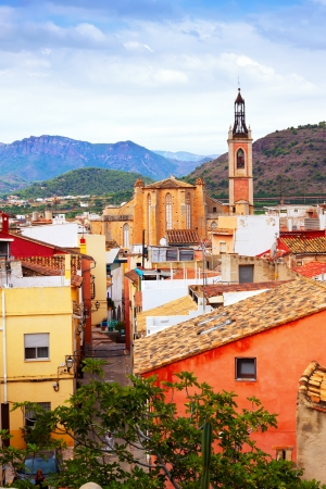 valencian: Old district of Sagunto. Valencian Community